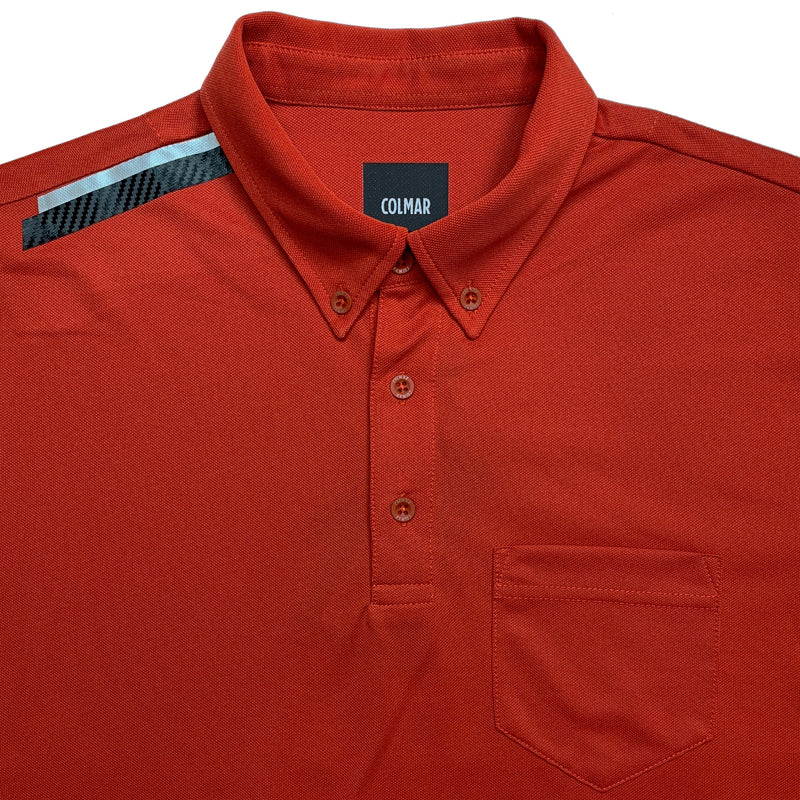 Colmar Men's Pique Polo - Red