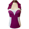 Catwalk Bella Sleeveless Golf Top - Berry