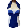 Catwalk Bella Sleeveless Golf Top - Iris