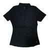 Womens Catwalk Christina Relaxed Short Sleeve Top - Black