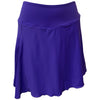 Womens Catwalk A-Line Knit Skort - Grape