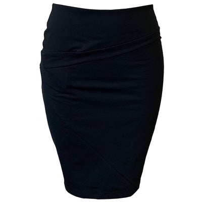 Catwalk Z Knit Skirt - Black