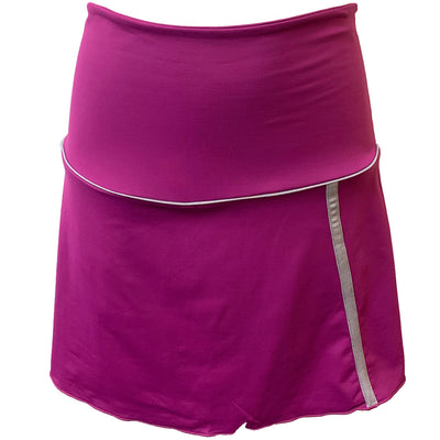 Womens Catwalk Piper Knit Skort - Berry