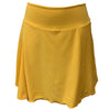 Catwalk A-Line Knit Skort - Yellow
