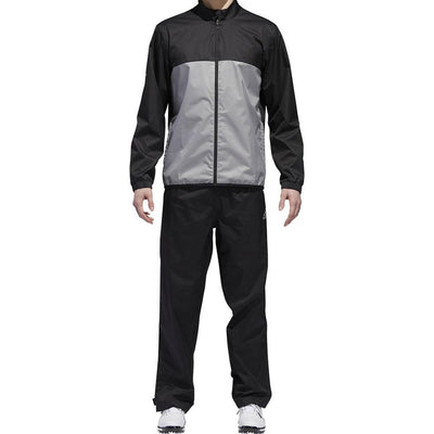 Adidas Mens Golf CLIMASTORM BANDON - LONG SLEEVE JACKET - BLACK