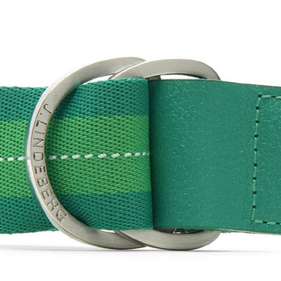 J.Lindeberg D-Ring Striped Webbing Belts - One Size