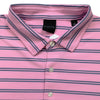 Dunning Jersey Golf Polo - PINK/ HALO