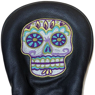 Sugar Skull Limited Edition Leather Driver or Putter Head Cover