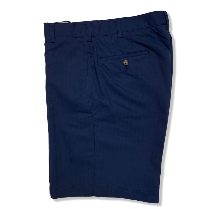 Donald Ross Flat Front Classic Walk Short - NAVY