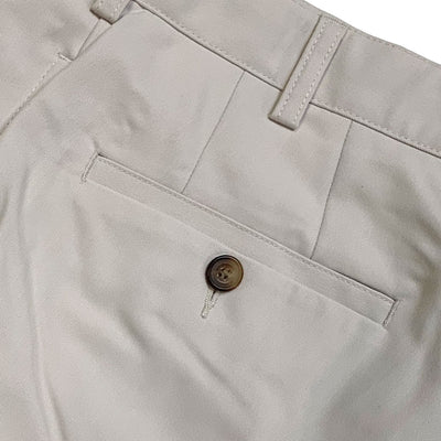 Donald Ross Flat Front Classic Walk Short - STONE