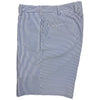 Donald Ross Flat Front Performance SEERSUCKER Walk Short - NAVY - Final Sale