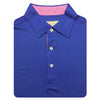 Mens Short Sleeve Solid Jersey SELF Collar - ATLANTIC PINK