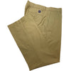 Dunning Cotton/CoolMax Polyester Pleat Pant - KHAKI