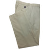 Dunning Cotton/CoolMax Polyester Pleat Pant - LIGHT KHAKI