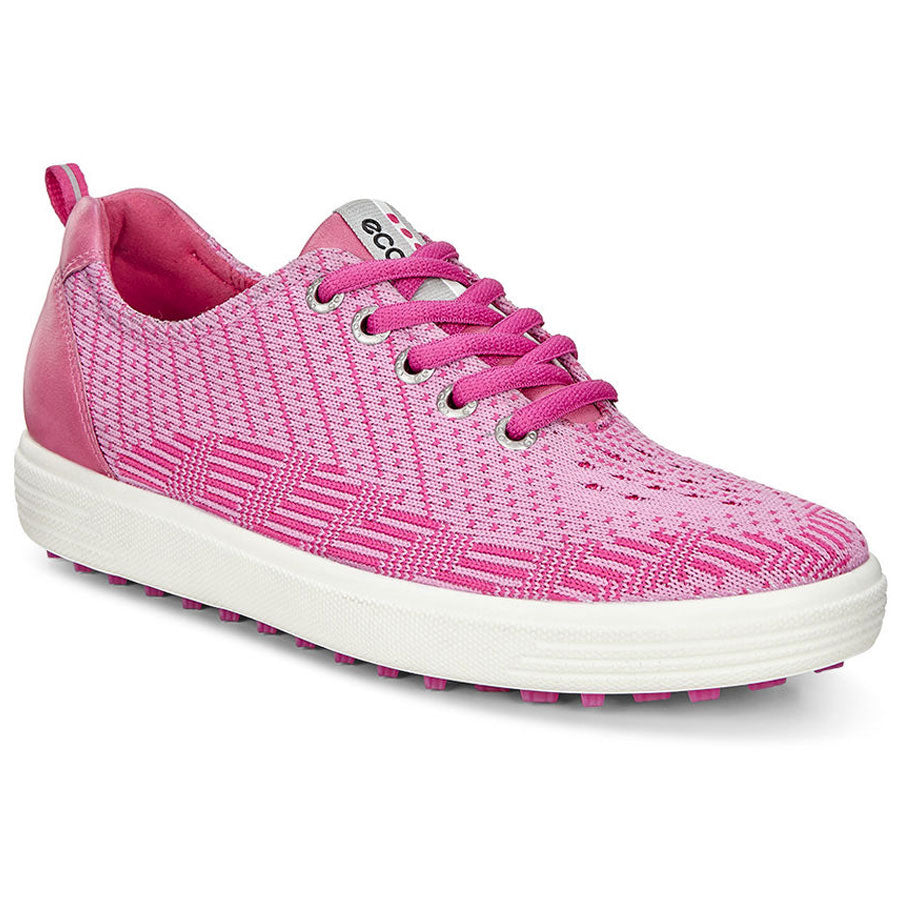 a7817ff92 ECCO WOMENS GOLF CASUAL HYBRID KNIT - PINK-BEETROOT FANDANGO - IN STOCK