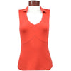 Catwalk Taylor Sleeveless Golf Top - Melon