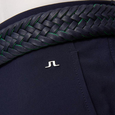 J.LINDEBERG Mens - ELOF SLIM FIT PANTS - NAVY / PURPLE
