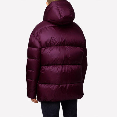J.LINDEBERG Mens - Expo Shiny Down Jacket - DUSTY BURGUNDY