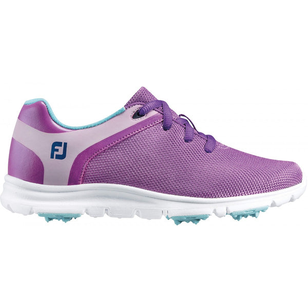 Footjoy Junior Girl's EmPower Spiked Golf Shoes - 48207 - PURPLE