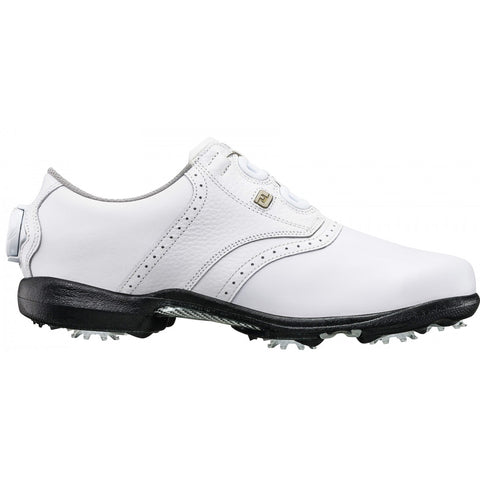 Footjoy Women DryJoys Cleated BOA - 99017 - WHITE - 2018 Model In Stock