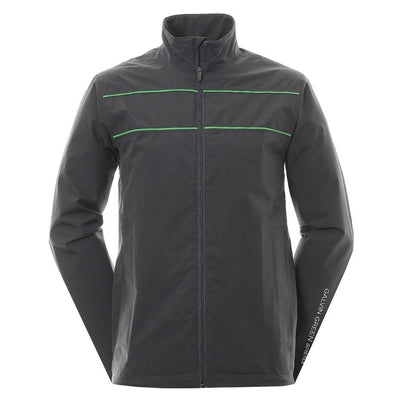 Galvin Green Mens Aldo Gore-Tex Waterproof Golf Jacket - IRON/GREEN