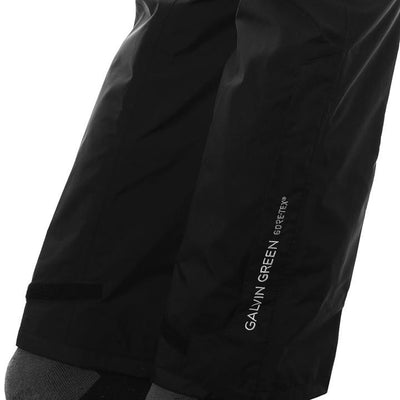 Galvin Green Mens ALF Gore-Tex Waterproof Pants - BLACK