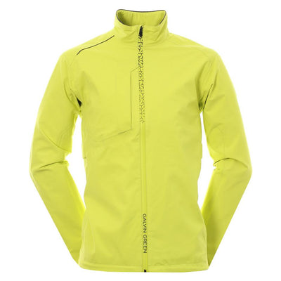 Galvin Green Mens ALFRED Gore-Tex Waterproof Golf Jacket LEMONADE/ BELUGA