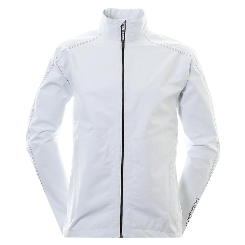 Galvin Green Mens Alonzo Paclite Gore-Tex Waterproof Jacket - WHITE