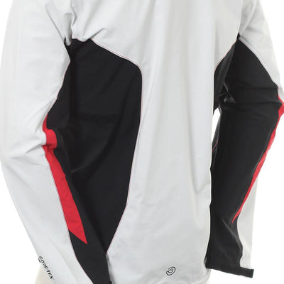 Galvin Green Mens ANGELO Paclite Gore-Tex Waterproof Jacket -BLACK/SNOW/RED