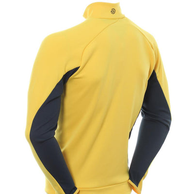 Galvin Green Mens Deon Insula Golf Jacket - NAVY / LEMON CHROME