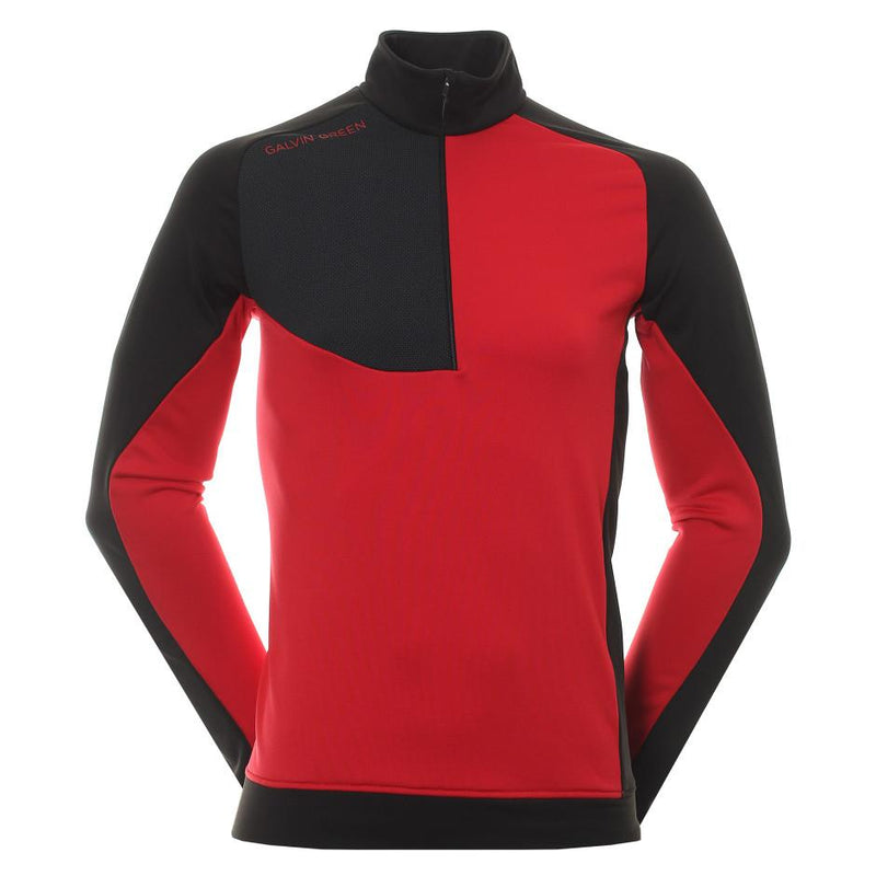 Galvin Green Mens Deon Insula Golf Jacket - RED / BLACK