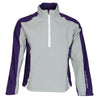 Galvin Green Mens Action Paclite Gore-Tex Waterproof Jacket - STEEL GREY / PLUM