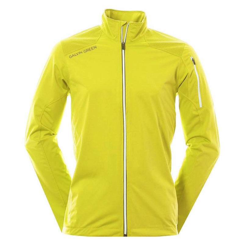 Galvin Green Mens Lance Interface-1 Windproof Jacket - LEMONADE