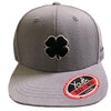 Black Clover Youth - Lucky Adjustable Hat - Grey-Black Clover White Trim