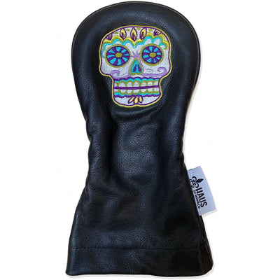 Sugar Skull Limited Edition Leather Driver Cover
