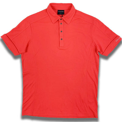 Galvin Green MENS Manley Polo - LIPGLOSS RED