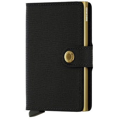 SECRID MINIWALLET - Crisple Black Gold- IN STOCK