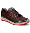 ECCO Men's Biom Hybrid 2 Golf Shoes - Mocha/Fire - In Stock
