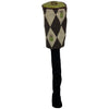 Belding FIVE WOOD Head cover - PINEAPPLE PRINT