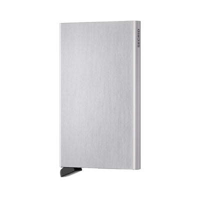 SECRID CARD PROTECTOR - BRUSHED SILVER- IN STOCK