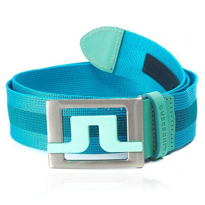 J.LINDEBERG Slater 40 Striped Webbing Belt - MINT