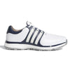 ADIDAS MEN'S GOLF TOUR360 XT-SL SPIKELESS SHOES - WHITE / NAVY / GOLD