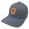 Black Clover - Fitted Hat - Brown Indigo