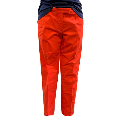 G/Fore Women's Fit Stretch Straight Leg Trousers - Poppy