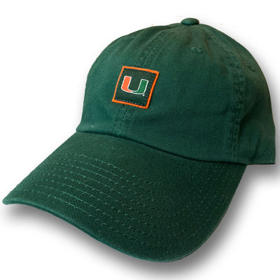 American Needle College Football -  UNIVERSITY OF MIAMI - Adjustable Hat