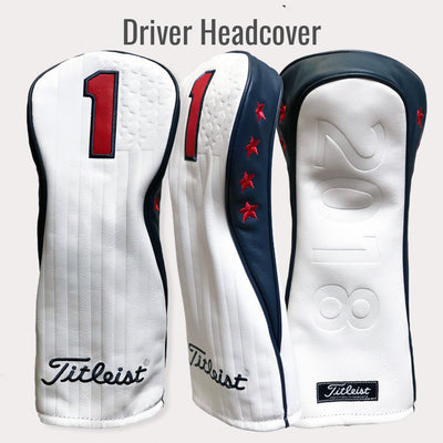 Titleist Limited Edition Commemorative 2018 US Open HeadCover Set