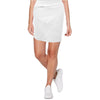 Womens Catwalk Z Knit Skirt - White