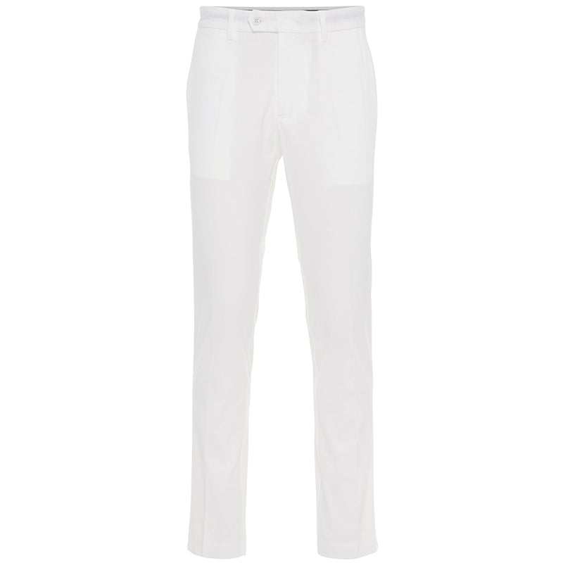 J Lindeberg Men's Vent Pants Tight Fit - WHITE