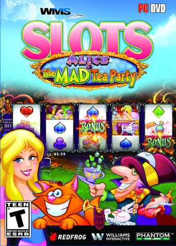 WMS Slots Alice & The Mad Tea Party