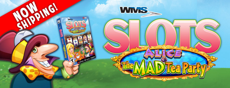 WMS Slots Alice The Mad Tea Party